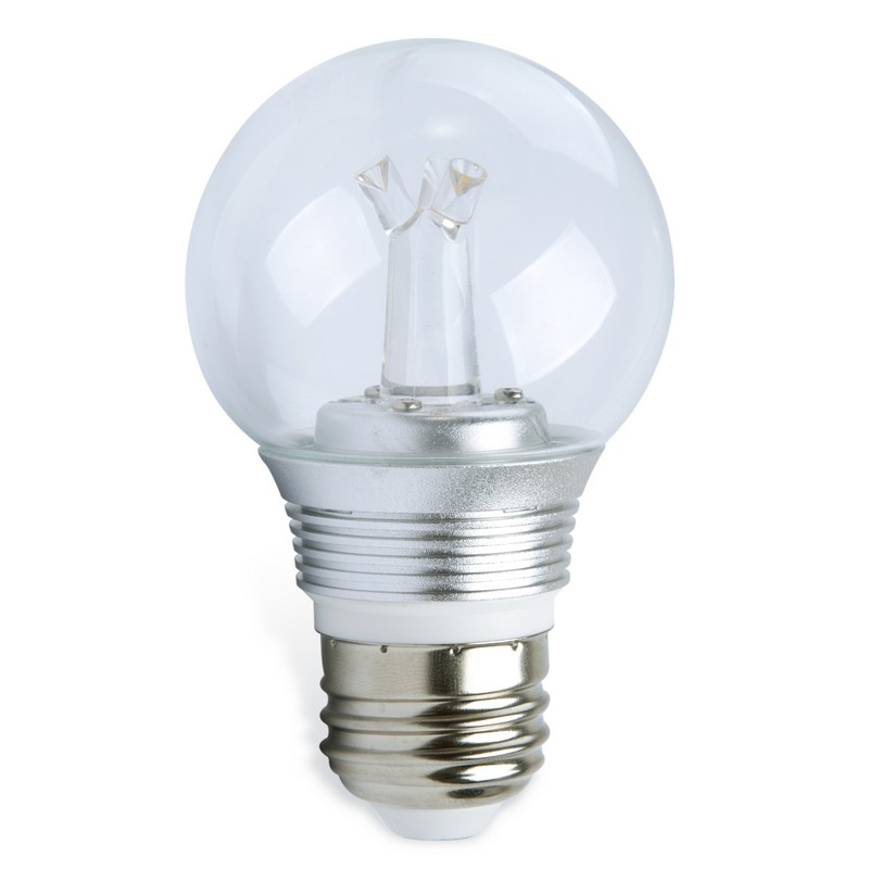 e27 led lamp 5 watt dimbaar transparant
