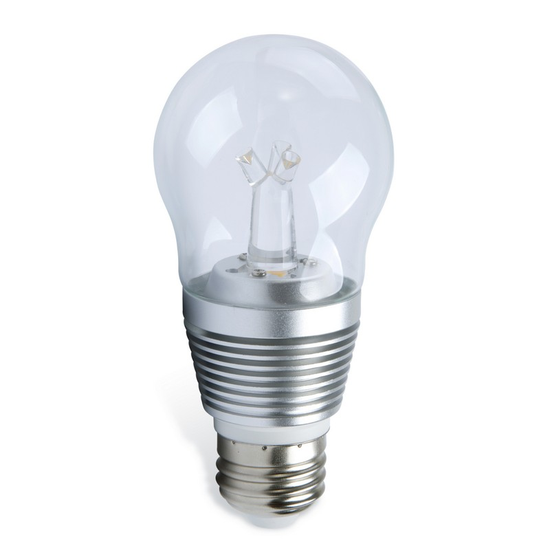 E27 LED Lamp 7 Watt dimbaar transparant