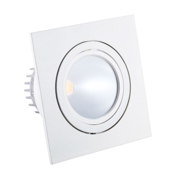 LED Inbouwspot VLB83-32 6W<br />warm wit