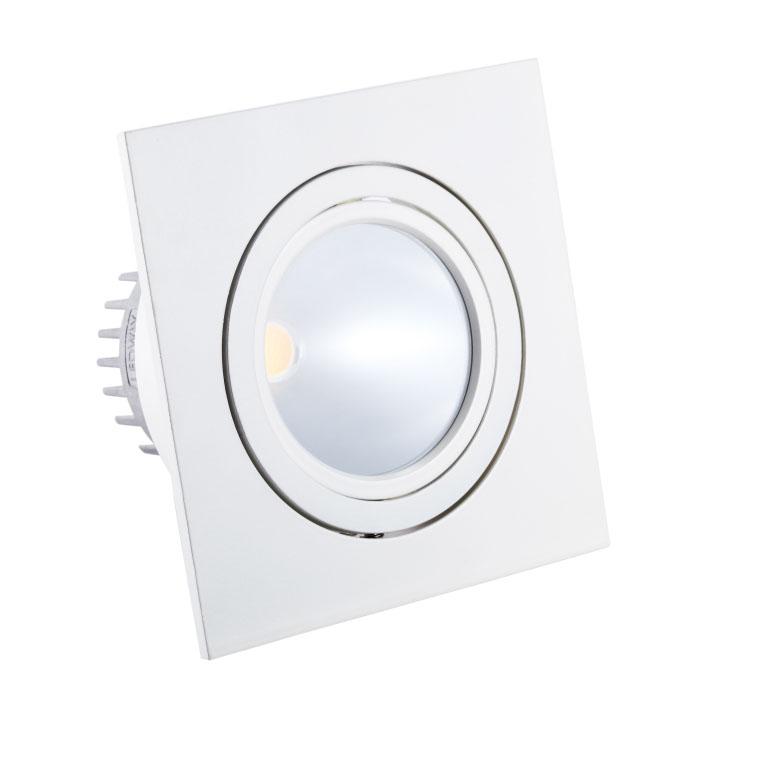 LED Inbouwspot VLB84-32 6W<br />wit