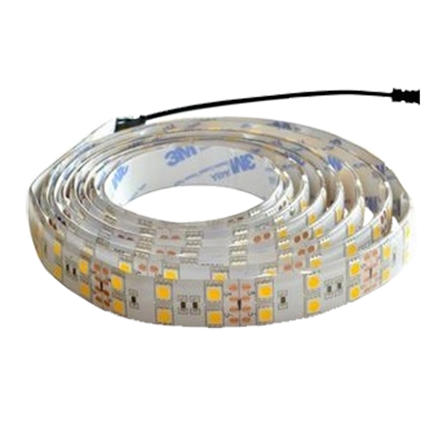 LED Strip 24V<br />120 LED's 26W/m<br />warmwit IP20