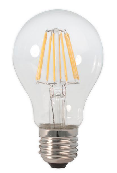 E27 LED Classic filament<br />8 Watt dimbaar