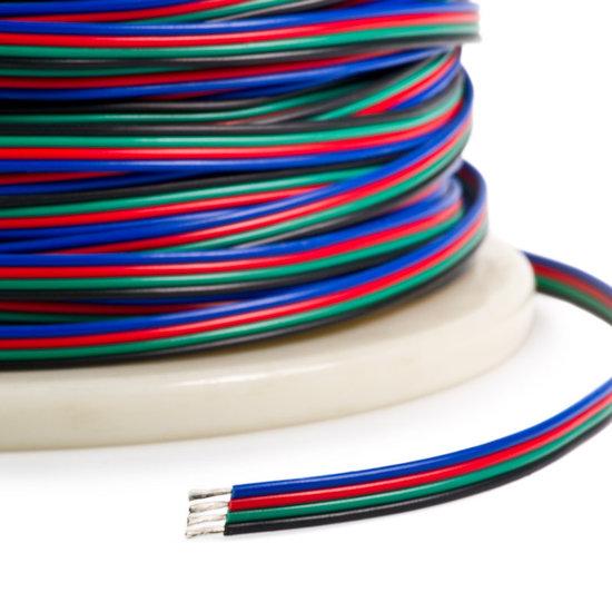 LED Stripkabel 4-aderig RGB