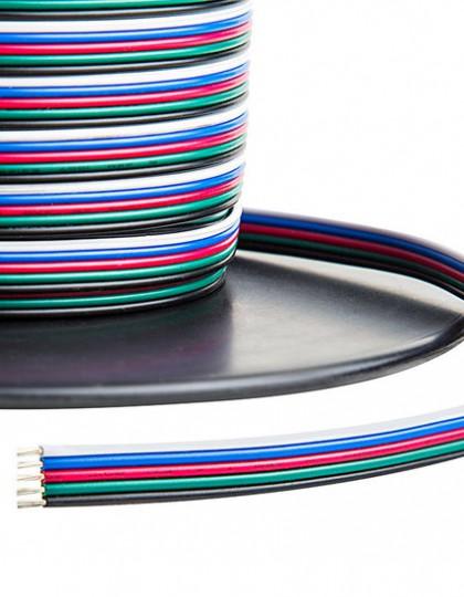 RGBW kabel 5-aderig