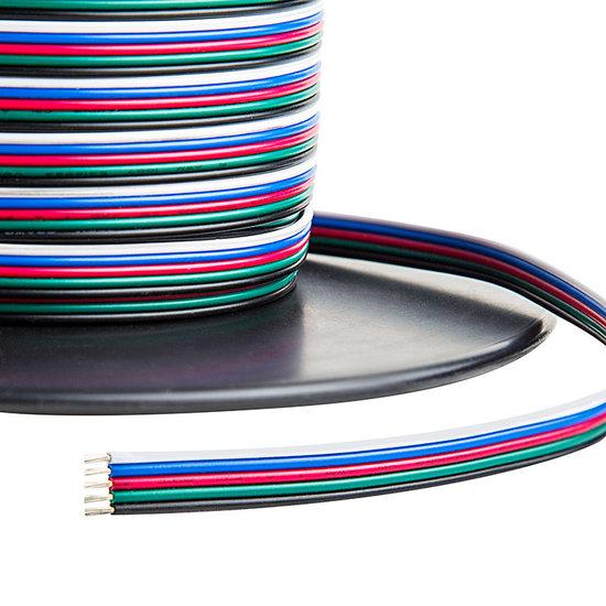 LED Stripkabel 5-aderig RGBW