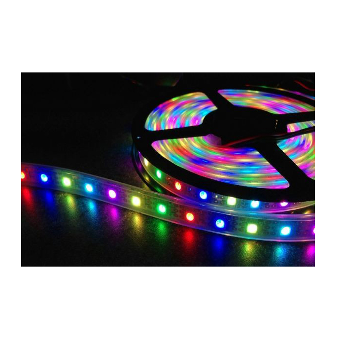 LED Strip RGB 24V<br />60 LED's 14,4W/m<br />IP20