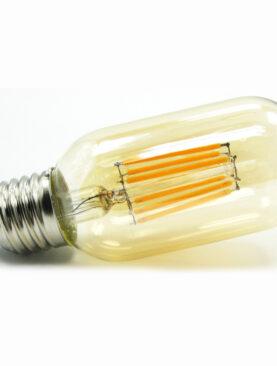 Edison Filament Vintage T45 E27 amber<br />8 Watt dimbaar
