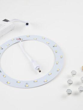Ombouwset Plafonniere naar<br/> LED 12W warm wit 2700K